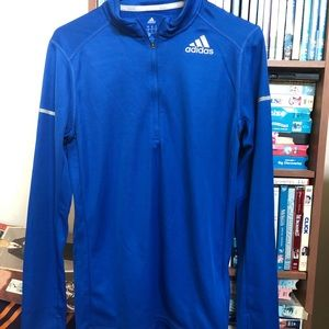 Adidas Running Dri-Fit Pullover with a 1/4 zipper